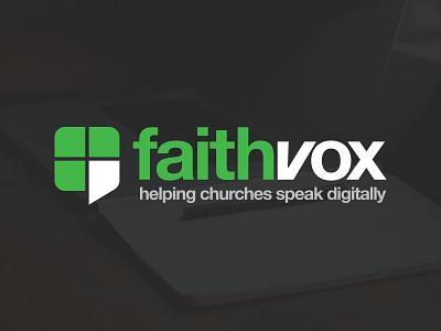 Faithvox green church faith branding