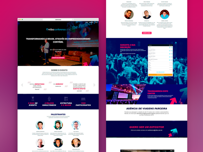 Landing page for Nibo Conference 2018