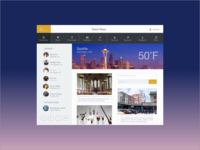 Travel Application UI