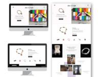 Arts and Crafts Display UI Design