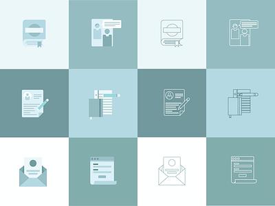 Different Vibes graphic design computer science illustration icon design