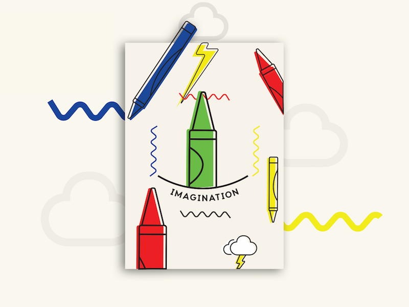 Doodles scribbles dream imagination graphic design design illustration doodle