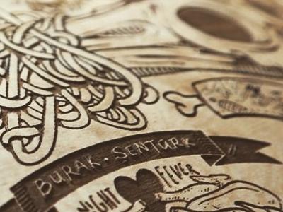 New Skateboard decks are comming soon! skateboard deck meat skull illustration street art illustrator