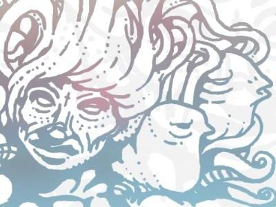 Water water promotion self drawing turkey istanbul illustrartor illustration