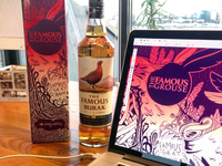 The Famous Grouse / Package illustration