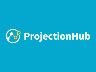 ProjectionHub Logo branding identity logo foxio financial projectionhub