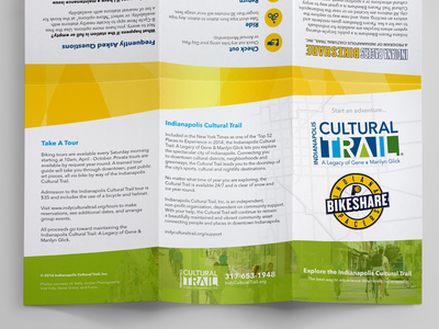 Indianapolis Cultural Trail + Indiana Pacers Bikeshare Map downtown indiana indianapolis indy indy cultural trail foxio bikeshare indiana pacers indianapolis cultural trail print map