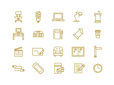 Launch Fishers Icons foxio branding icons coworking launch fishers