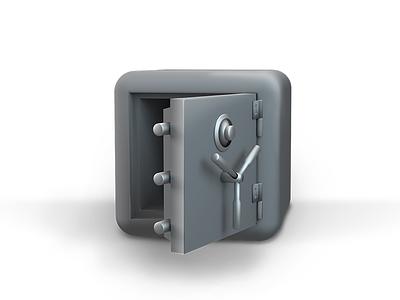 """PactSafe """"3d safe"""" concept branding sketch blender rendering 3d vault safe foxio pactsafe"""