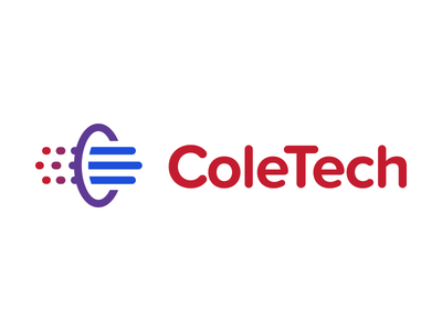 ColeTech Logo Design exhaust logo coletech