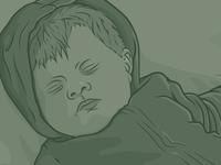 Modern Baseball illustration for Sparrow Sleeps