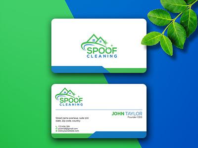 unique business card outstanding unique logo