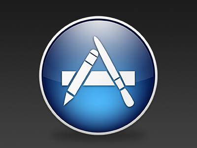 Mac App Store Icon [PSD]