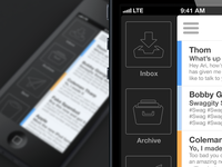 iPhone Mail App v3