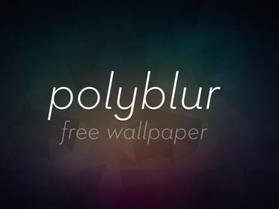 Polyblur Wallpaper