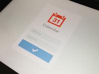 iPad Calendar Login