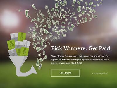 Pick Winners Get Paid