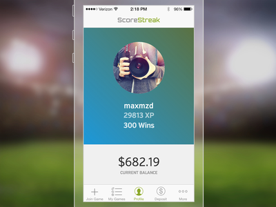 ScoreStreak App