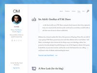 Om Malik Blog