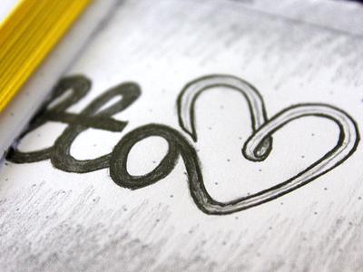Palmetto Logo Sketch