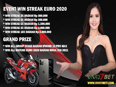 Event EURO 2020 Judi Online - Event Win Streak event judi bola event euro 2020 judi online event euro 2020 event win streak judi bola online judi online