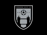 London City FC - Greyscale