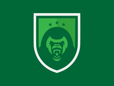 London Zoo FC - (Shield) logos soccer logo soccer badge soccer football badge football shield logo logo design logo