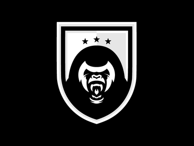 London Zoo FC - (Black & White) logos soccer logo soccer badge soccer football badge football shield logo logo design logo