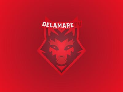 DelamareTV gaming logo mascot logo mascot design logos logo design logo