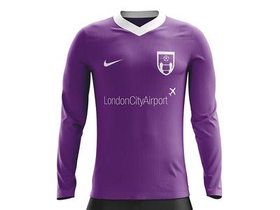London City FC - Alternate/3rd apparel kit design logos soccer logo soccer badge soccer football badge football shield logo logo design logo