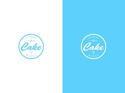 Unique Cake Bakes branding logo design logos logo