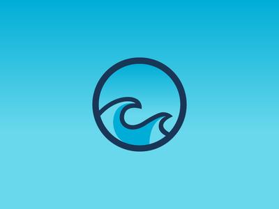 Second Wave sports logo designer design logos illustration logo design logo