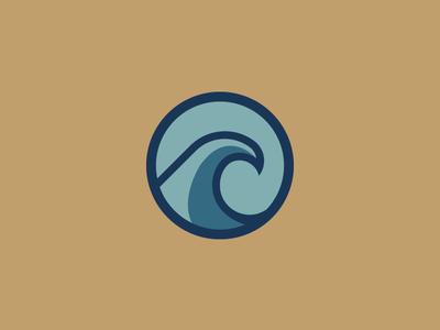 Second Wave - Variation sports logo designer design logos illustration logo design logo