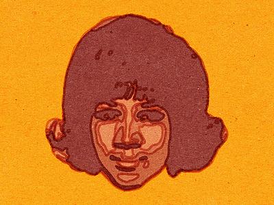 Aretha Franklin (RIP). design vella advertising alexei adobe digital conceptual vector editorial retro illustration texture