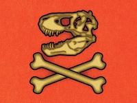 T-REX Skull / The Bone Wars.