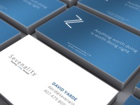 Sevenality Business Cards