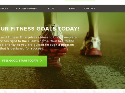 Fitness Website WIP