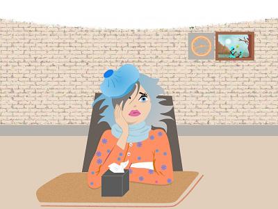 Weep not woman design crying illustration art illustrator vector