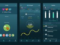 1 Billion Step App