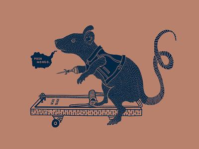 Mongo Rat neutral tail knife rat trap mongo skate skateboard rat