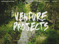 Venture projects homepage