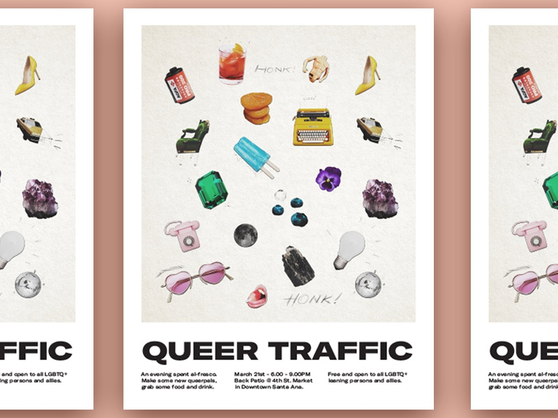 Queertraffic march dribbble