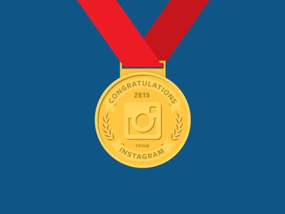 X Games & Instagram Illustration gold medal instagram games x