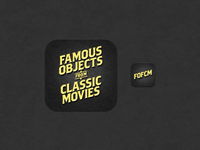 Famous Objects from Classic Movies for iPad