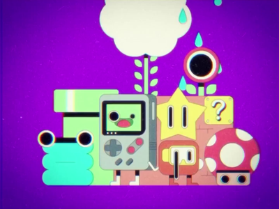 Arcade Nostalgia 🎮🕹 ohvalentino videogames star gameboy mariobros mushroom affinity aftereffects nintendo nostalgia arcade