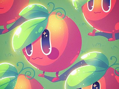 Orange Troopa! 🍊 lemon citric procreate kawaii illustration character ohvalentino chibi fruits orange