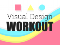 Twitch Event Image Series - Visual Design Workout