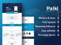 Palki App Landing Page