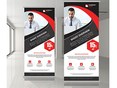 Corporate Roll Up Banner banner design corporate roll up banner roll up banner banner