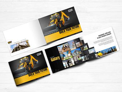 Construction brochure brochure design construction bifold brochure construction horizontal brochure construction brochure clean brochure mockup brochure booklet
